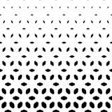 Vector halftone pattern. Vertical falling shapes, rhombuses. Stock Photos