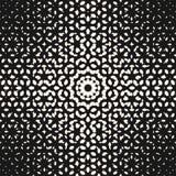 Vector halftone pattern, monochrome texture with small flowe. Vector halftone pattern, monochrome texture with small rounded shapes, visual effect of gradient Royalty Free Stock Photo