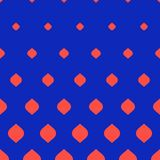 Vector halftone pattern. Vertical gradient transition effect from blue to red. Vector halftone pattern. Stylish modern geometric texture, vertical transition vector illustration