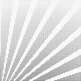 Vector halftone rays Royalty Free Stock Photos