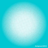 Halftone screen royalty free illustration
