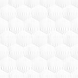 Vector Halftone Seamless Pattern Royalty Free Stock Photo