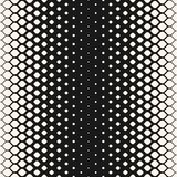 Vector halftone seamless pattern, mesh geometric texture. stock illustration