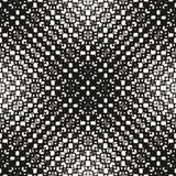 Vector halftone seamless pattern. Ornamental background Royalty Free Stock Image