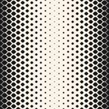 Vector halftone seamless pattern, mesh background Stock Photos