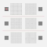 Vector Halftone Texture. Stock Photography