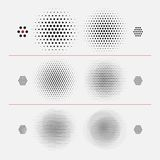 Vector Halftone Texture. Stock Image