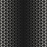 Vector halftone texture, digital dots effect floral flower Royalty Free Stock Photo
