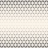 Halftone texture, seamless pattern, gradient transition effect. Royalty Free Stock Images