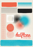 Vector Halftone Texture Pack Stock Image
