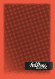 Vector Halftone Texture Stock Images
