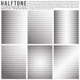 Vector Halftone Textures Royalty Free Stock Photos