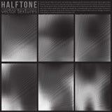 Vector Halftone Textures Stock Photography