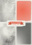 Vector Halftone Textuurpak Royalty-vrije Stock Foto