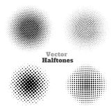 Vector Halftones Stock Photos