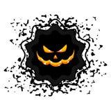 Halloween sale sticker Royalty Free Stock Photo