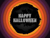 Vector - Halloween Background Circle Grunge Vector Stock Photo