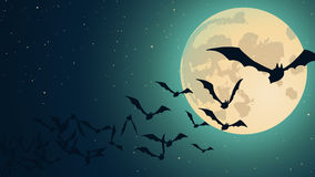 Vector Halloween background Stock Images