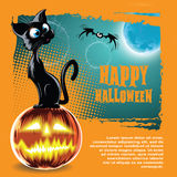 Vector Halloween background Stock Photos