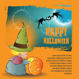 Vector Halloween background Royalty Free Stock Image