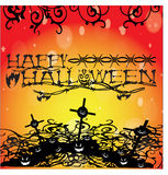 Vector Halloween Background2. Vector spooky,creepy Halloween Background2 Royalty Free Stock Photography