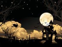 Vector. Halloween card Royalty Free Stock Photos