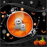 Vector Halloween illustratie Stock Foto