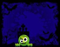 Vector Halloween illustratie Stock Fotografie