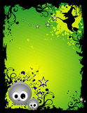 Vector Halloween illustratie Royalty-vrije Stock Fotografie