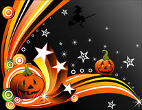 Vector halloween illustration Royalty Free Stock Photo