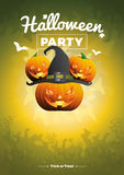 Vector Halloween Party illustration Stock Photography