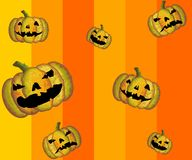 Vector Halloween Pattern Stock Photography
