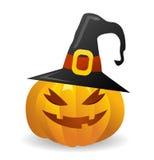 Vector halloween pumpkin Stock Photography