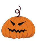 Vector halloween pumpkin Stock Photos