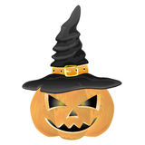 Vector. Halloween pumpkin. Royalty Free Stock Photos