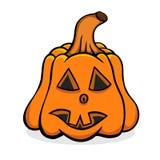 Vector Halloween pumpkin Stock Photos