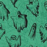 Vector Halloween seamless Royalty Free Stock Image