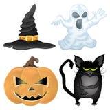 Vector. Halloween set. Royalty Free Stock Photos