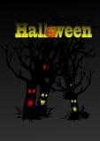 Vector Halloween subtitles 3 Stock Images