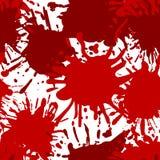 Vector Halloween Theme Background, SEAMLESS Pattern, Blood Splatters. Vector Halloween Theme Background, SEAMLESS Pattern, Blood Splatters on White Backdrop Stock Illustration
