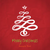 Vector Hand Drawing Christmas Tree Stock Images
