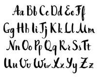 Vector hand drawn alphabet Royalty Free Stock Photo