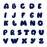 Vector hand drawn Alphabet A to Z Stock Photography