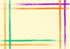 Vector hand drawn background Royalty Free Stock Image
