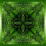 Vector hand drawn background for you eco design. Royalty Free Stock Photos