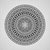 Vector Hand Drawn Doodle Mandala. All brushes included, you can create your own pattern Stock Photos