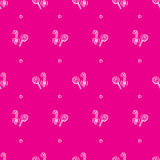 Vector hand drawn lollipop seamless pattern Stock Photos