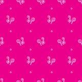 Vector hand drawn lollipop seamless pattern Stock Photos