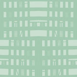 Vector hand-drawn naadloos patroon met abstract stedelijk ornament Royalty-vrije Stock Foto