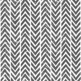 Vector hand drawn tribal pattern. Seamless Royalty Free Stock Photo